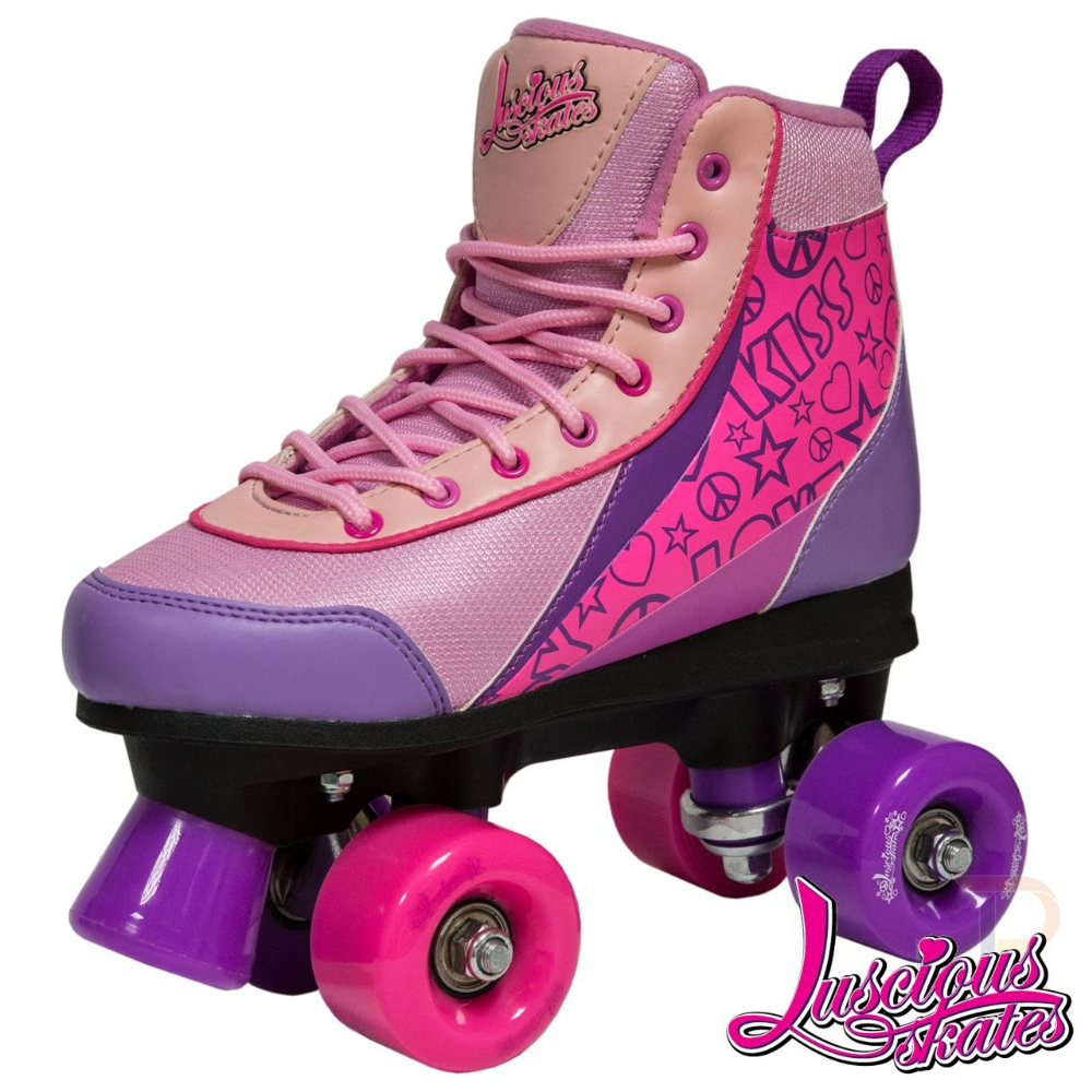 Luscious Retro Quad Skates - Passion
